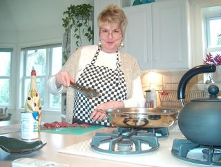 Cynthia Cooking