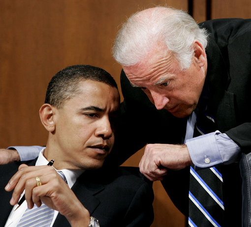 Obama and Biden in committee