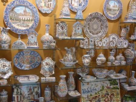 Sevillarte-pottery