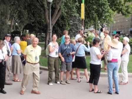 Fellow tour travelers