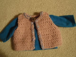 croched vest