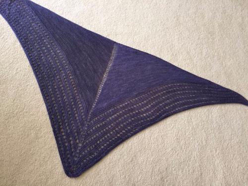 Purple shawl 3