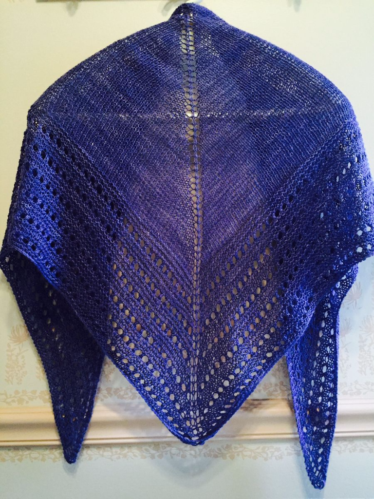 Purple shawl 4